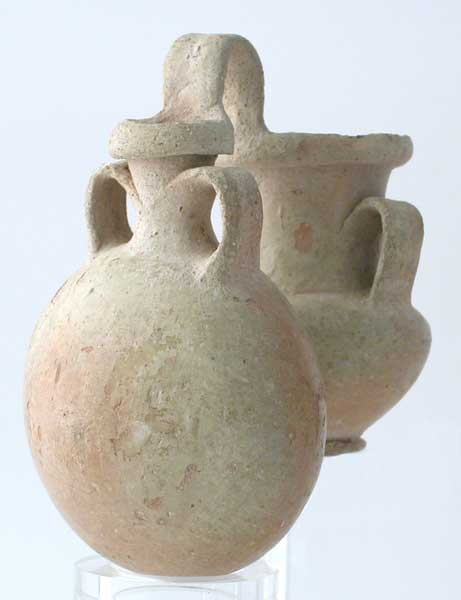 New Kingdom Double Vase