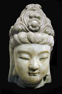 Marble Head of Guanyin