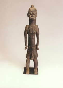 Jukun Wooden Sculpture of a Man