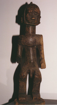 Dogon Kambari Wooden Sculpture of a Standing Man