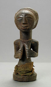 Hemba Wooden Sculpture of a Woman