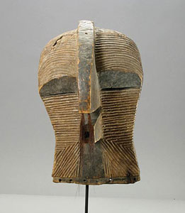 Songye Wooden Kifwebe Mask