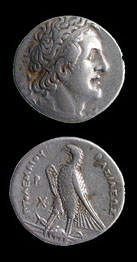 Silver Tetradrachm of Ptolemy I Soter