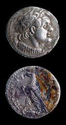 Silver Ptolemaic Coin