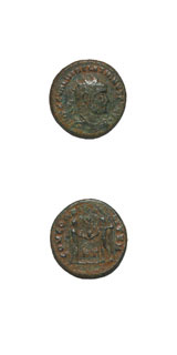 Bronze Radiate of Emperor Diocletian