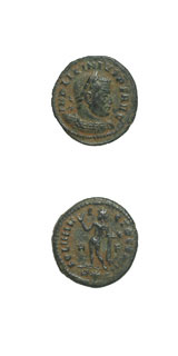 Bronze Follis of Emperor Licinius