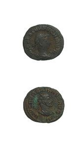Bronze Antoninianus of Vabalathus, the Roman Duke of Palmyra