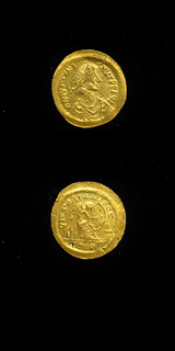 Byzantine Gold Semissis of Emperor Justinian I