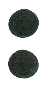 Bronze Follis of Emperor Diocletian
