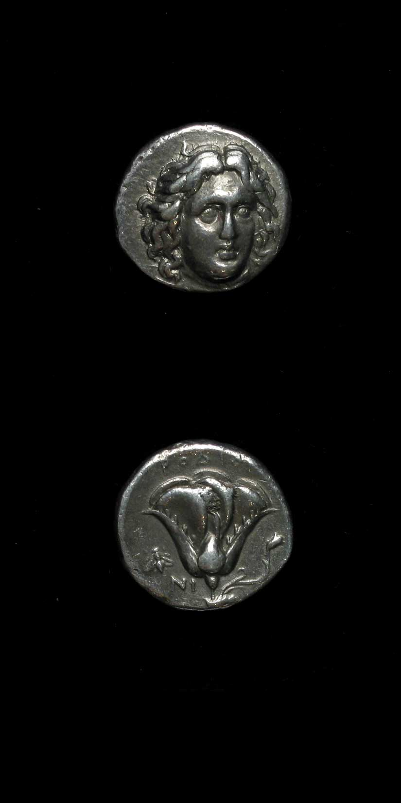 Silver Stater Of Rhodes