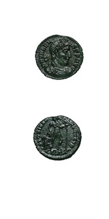 Bronze Coin of Emperor Valens