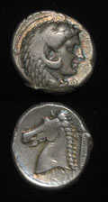 Siculo-Punic Silver Tetradrachm