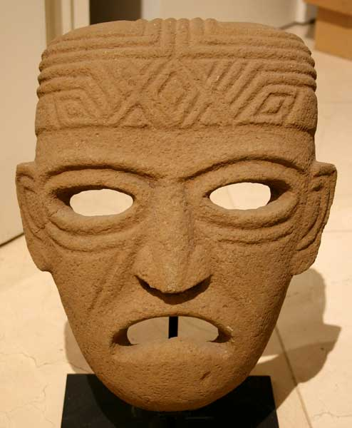 Atlantic Watershed Basalt Funerary Mask