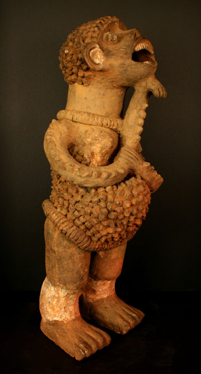 Mambila Terracotta Sculpture