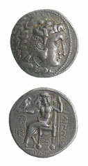 Celtic Silver Tetradrachm Imitative of Phillip III