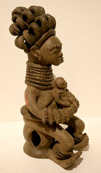 Igbo Terracotta Seated Figure