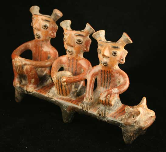 Zacatecas Terracotta Figural Group