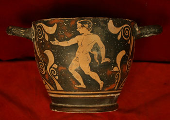 Greek Red-Figure Skyphos