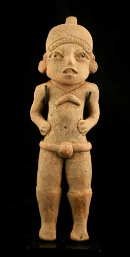 Xochipala Terracotta Sculpture of a Man