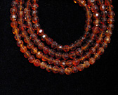 Citrine Bead Necklace