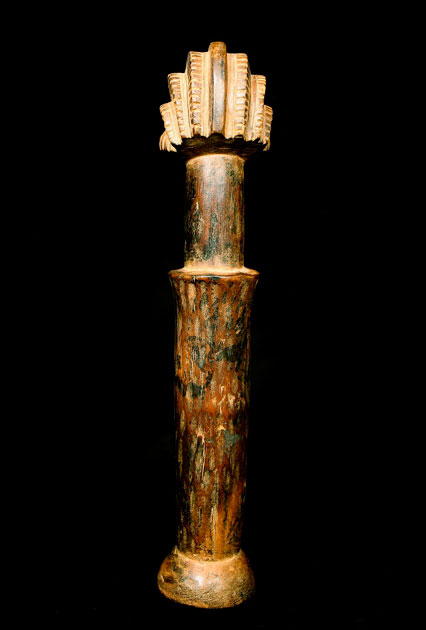 Hemba Wooden Anthropomorphic Staff