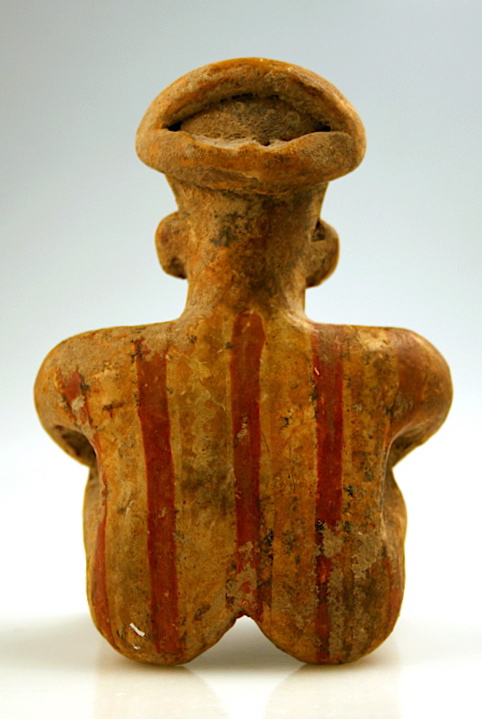 Nayarit Sculpture of a Seated Man