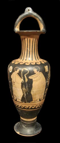 Apulian Red-Figure Bail-Amphora
