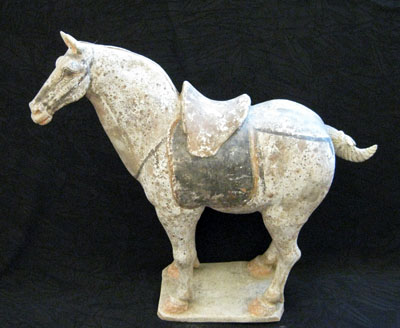 Tang Painted Terracotta Horse