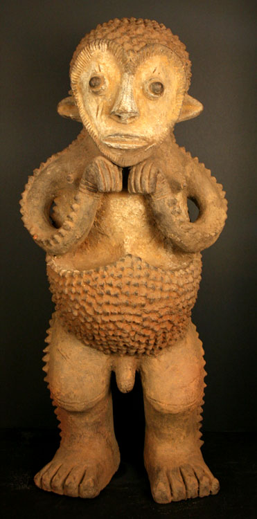 Mambila Terracotta Sculpture of a Man