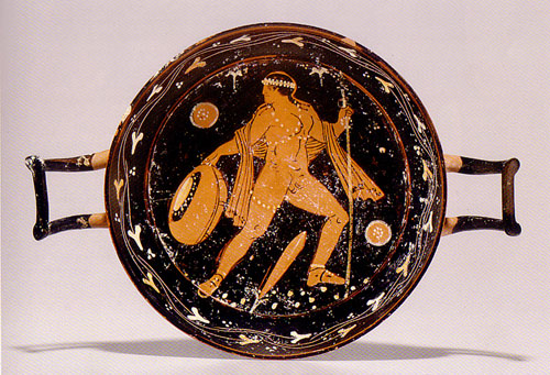 Paestum Red-Figured Stemless Kylix
