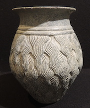 Intercultural Style Chlorite Cylindrical Vessel