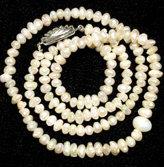 Necklace Of Freshwater Cultured Pearls