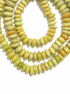 Necklace Of Genuine Serpentine Beads