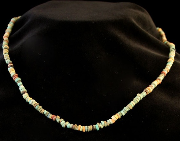 New Kingdom Faience Bead Necklace