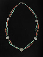 Necklace Of Egyptian Faience Beads & Roman Beads