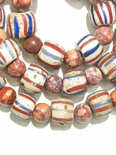 Venetian Glass Trading Bead And Jasper Beads