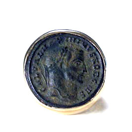 Roman Bronze Coin Depicting Emperor Maximinus I