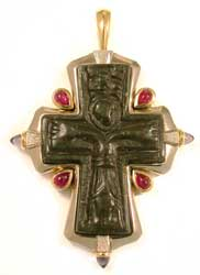 Byzantine Bronze Cross