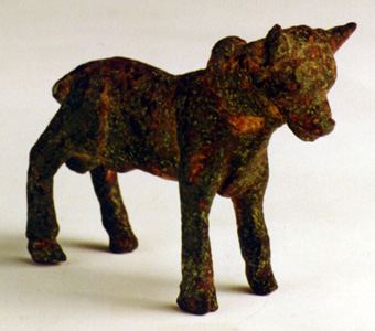 Iron Age Sculpture of a Young Bull
