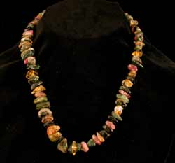 Tourmaline Bead Necklace
