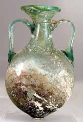 Late Roman/Early Byzantine Glass Flask