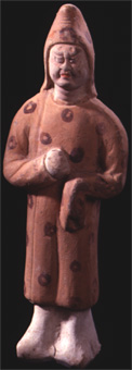 Tang Terracotta Sculpture of a Soldier