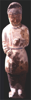 Tang Sculpture of a Standing Male