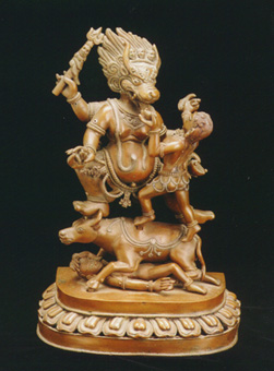 Tantric Sculpture of Yama and his Sister Yami