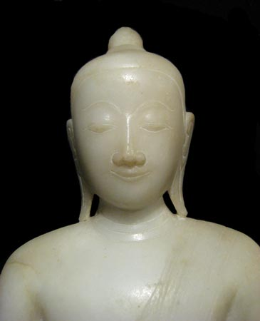 Marble Seated Buddha