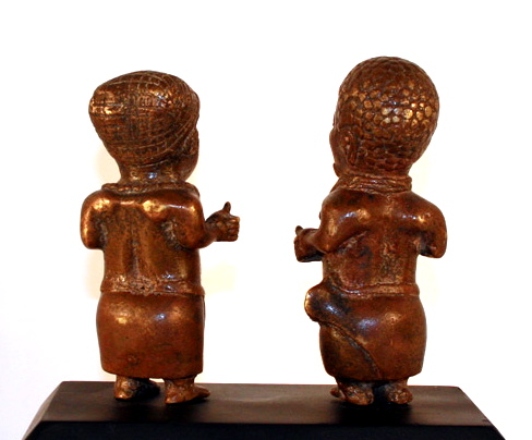 Ife Style Bronze Couple