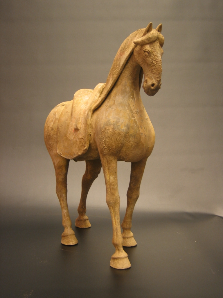 Early Tang Painted Pottery Horse
