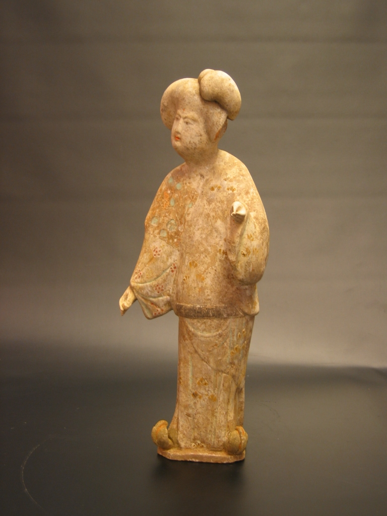 Tang Dynasty Painted Pottery Fat Lady