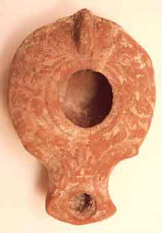 Roman Oil Lamp of the Herodian Period