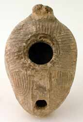 Islamic Terracotta Oil Lamp
